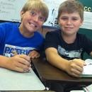 Thomas and Landon
