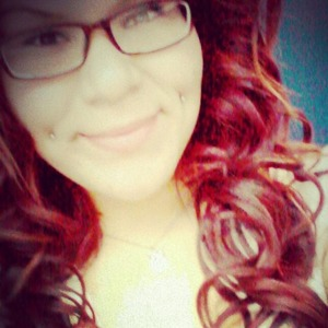 love my red hair, did it all by myself.