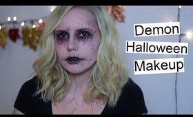 Demon Halloween Makeup Tutorial