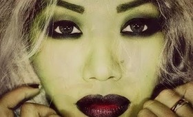 HOW TO : Halloween Ghoulish Make Up