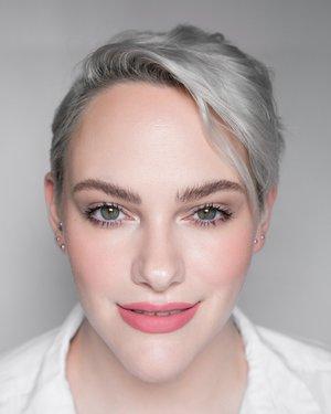 Lipstick is Dominique Cosmetics Berries & Cream Liquid Lipstick in Creamy Pink  Full makeup details here: https://www.instagram.com/p/B1hF109FZUi