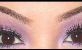 Tutorial: Soft Purple Smokey Eyes
