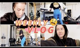 WEEKLY VLOG   IT WAS ALL GOING SO WELL..😩