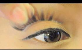 Gyaru simple nude eye make up tutorial  シムプル ヌード ギャル メイクアップ