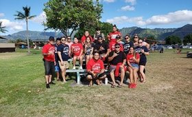 Waianae High School Class of '08 Beach Day Event