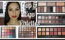 Top 5 Eyeshadow Palettes | Janbeautary Day 31 | ChristineMUA