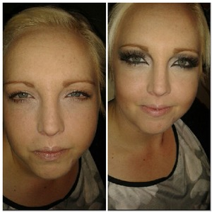 before and after x