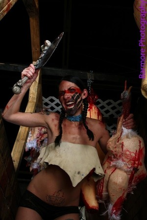 Shot at Dream Reapers Haunted House in Melrose Park, IL. Photographer Jerry Barmore