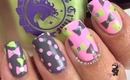 Cute Little Bow Nail Tutorial by The Crafty Ninja