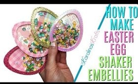 How to Make Easter Egg Shaker Embellishments, 10 Days of Easter Happy Mail DAY 6