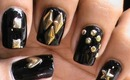 Studded Nails! - How To Do Metal Nail Art designs