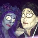 Corpse Bride and Victor Von Dort
