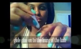 Classic Smokey Eye+ How to Apply False Lashes