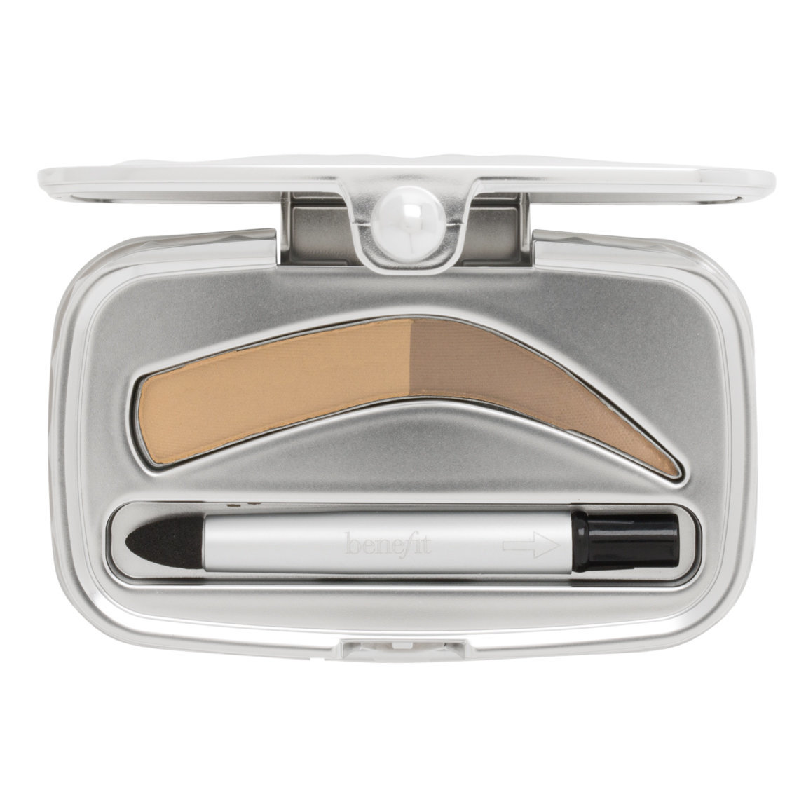 Benefit Cosmetics Foolproof Brow Powder 01 Light product smear.