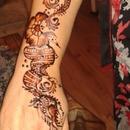 henna I did my self