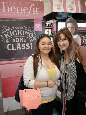 Got to meet Victoria at the Benefit & Sephora event last night! :)