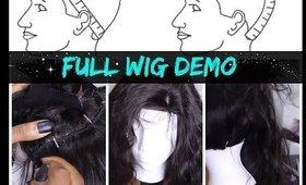 HOWTO: Full Wig w/ Silk base closure