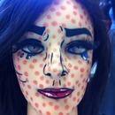 Pop art make up 💕