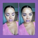 Purple All Over Look