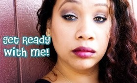 GRWM - Easy Everyday Makeup with a pop of color + Small Chit Chat | Honey Kahoohanohano