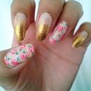 Gold & Floral