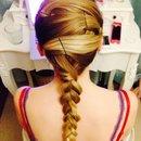So I did this on my friends hair hope you like ot❤️❄️☀️
