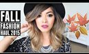 FALL FASHION TRY-ON HAUL 2015! Urban Outfitters, Forever 21, H&M, Cotton On!