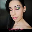 Harlequin' Girl Makeup Artist