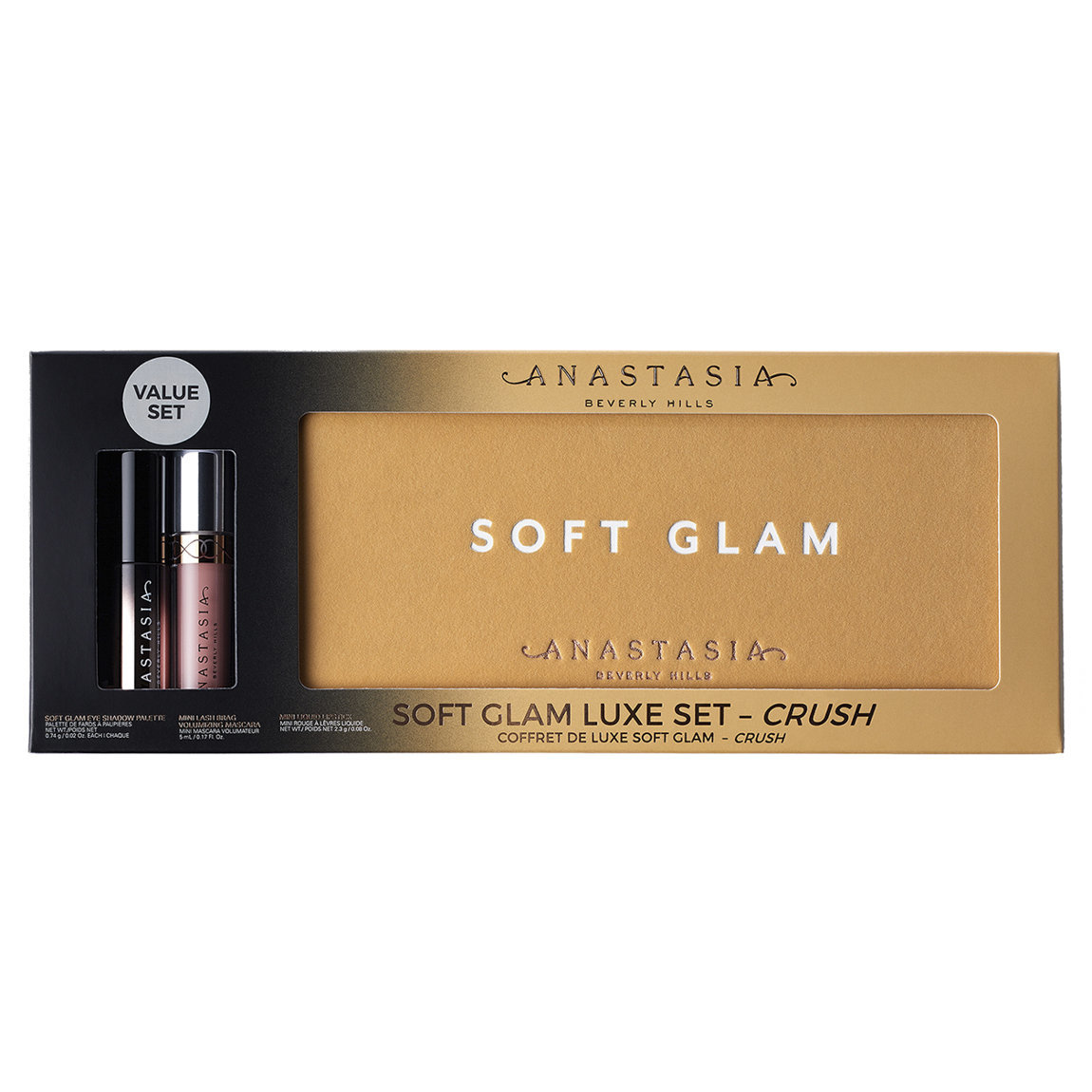 Anastasia Beverly Hills Soft Glam Luxe Set alternative view 1 - product swatch.