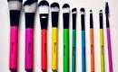 bh cosmetics pop ART brushes
