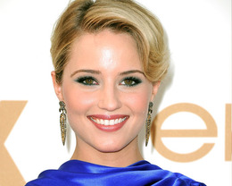 Dianna Agron Makeup, Emmy Awards 2011