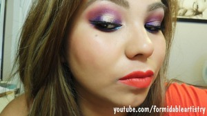 This tutorial was using the Sephora Disney Ariel Palette. All products listed in our blog!  http://formidableartistry.blogspot.com/2013/07/sephora-ariel-palette-makeup-tutorial.html