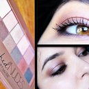 Vintage Rose Valentine's day Makeup Tutorial | Blushed Nudes Palette Maybelline