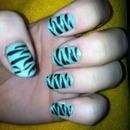 Zebra with matte finish