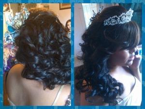 Quinceanera Hair ;)