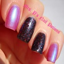 Mrs. P's Nail Potions - Pink/Blue Shifty and The Hustle