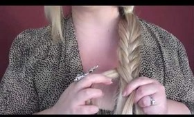 How To Do A Quick Fishtail Braid
