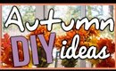 AUTUMN DIY IDEAS (HOME DECOR + SHIRT DESIGN)