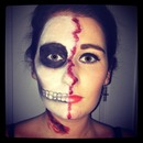 Half Face - Halloween