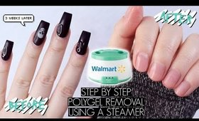 DIY POLYGEL REMOVAL AT HOME | The Beauty Vault