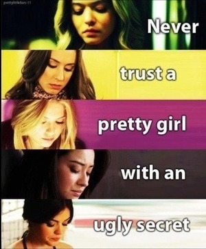 Any other Pretty Little Liars fans out there? It's my favorite show!!! I'm obsessed!!!! Only on season 3