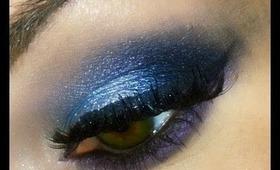 Icy Blue Smokey Eye = TUTORIAL