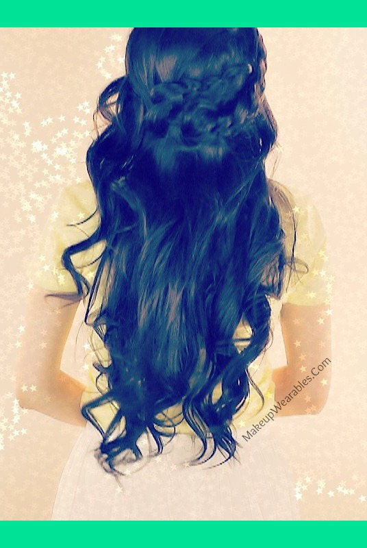 Strange Boho Wrap Around Braid Half Up Updo For Long Hair Tutorial Short Hairstyles Gunalazisus