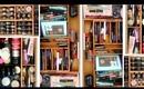 Makeup Storage: Bamboo Drawer Organizers!