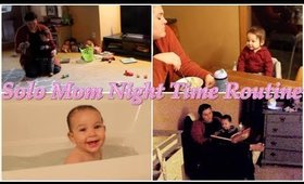 Infant Night Time Routine as a SOLO MOM!