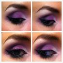 Sleek Acid Palette Look 1
