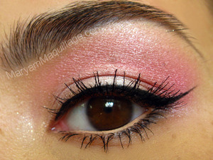 pink eyeshadow for asian or hooded eyes. All info on my blog: http://www.maryammaquillage.com/2012/03/pink-on-pink-la-emma.html