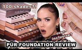 100 SHADES OF INCLUSION? PUR 4 in 1 LOVE YOUR SELFIE FOUNDATION REVIEW | Maryam Maquillage