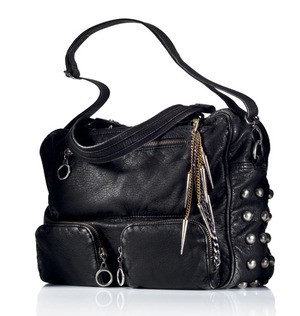 mark Get A Handle On It Bag Style with detail  $60.00  A total of six pockets (three inside, three outside) provide plenty of places to stash your stuff. Washed pebbled faux leather. A long (detabhable) strap allows for cross-body wear. Just as cool: Let