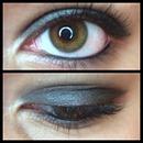 Simple Black Smokey Eye